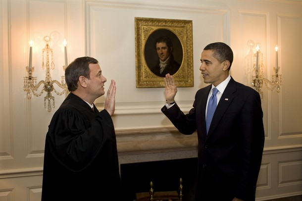 Obama sworn in as president
